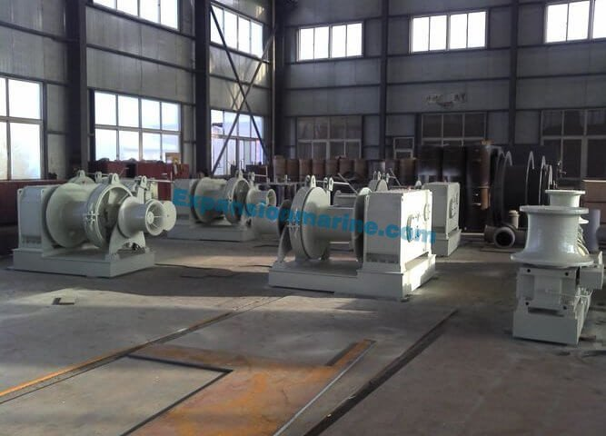 durable competive price winch mooring for ship
