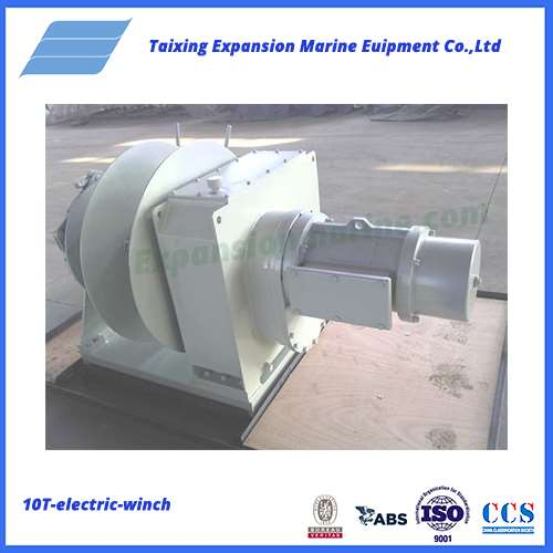 1.5T electric winch for ship mooring