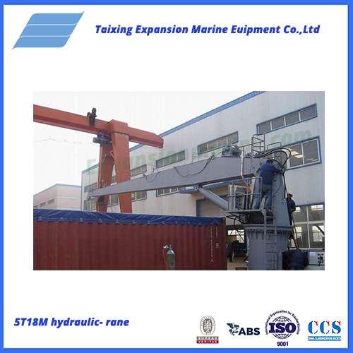 5T18M hydraulic-crane
