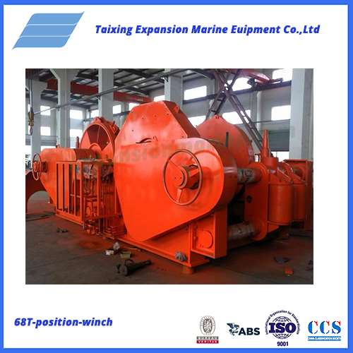 68T position mooring winch waterfall