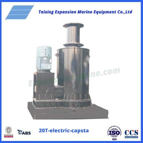 20T-electric-capstan wharf mooring
