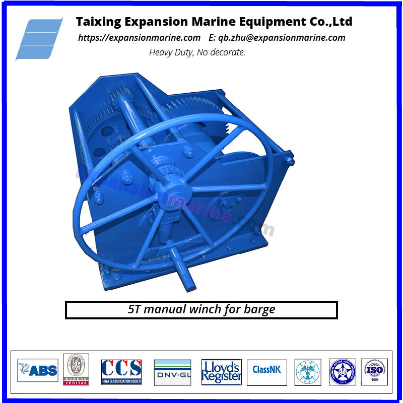 marine grade hand winch