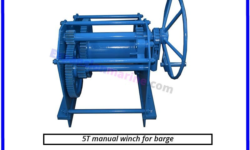 marine grade heavy duty hand winch