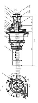 16mm anchor capstan drawing for your reference