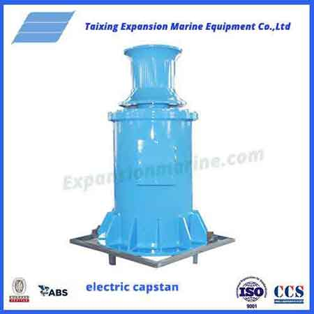 electric mooring winch capstan