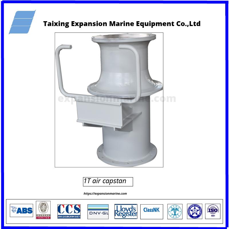 10KN pneumatic capstan for mooring