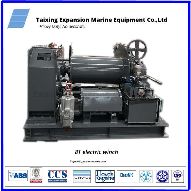 towing winch ship with rmrs