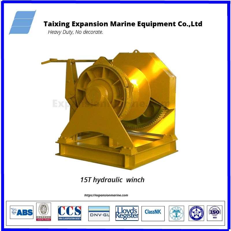 hydraulic tugger winch