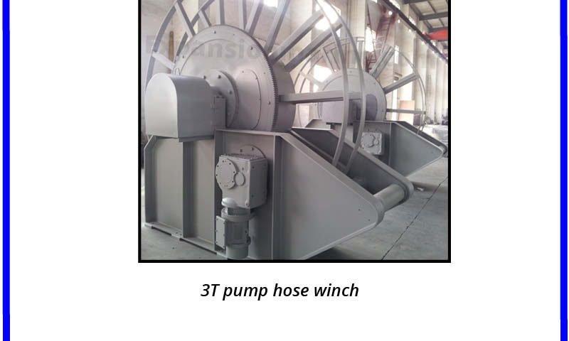30kn pump hose winch
