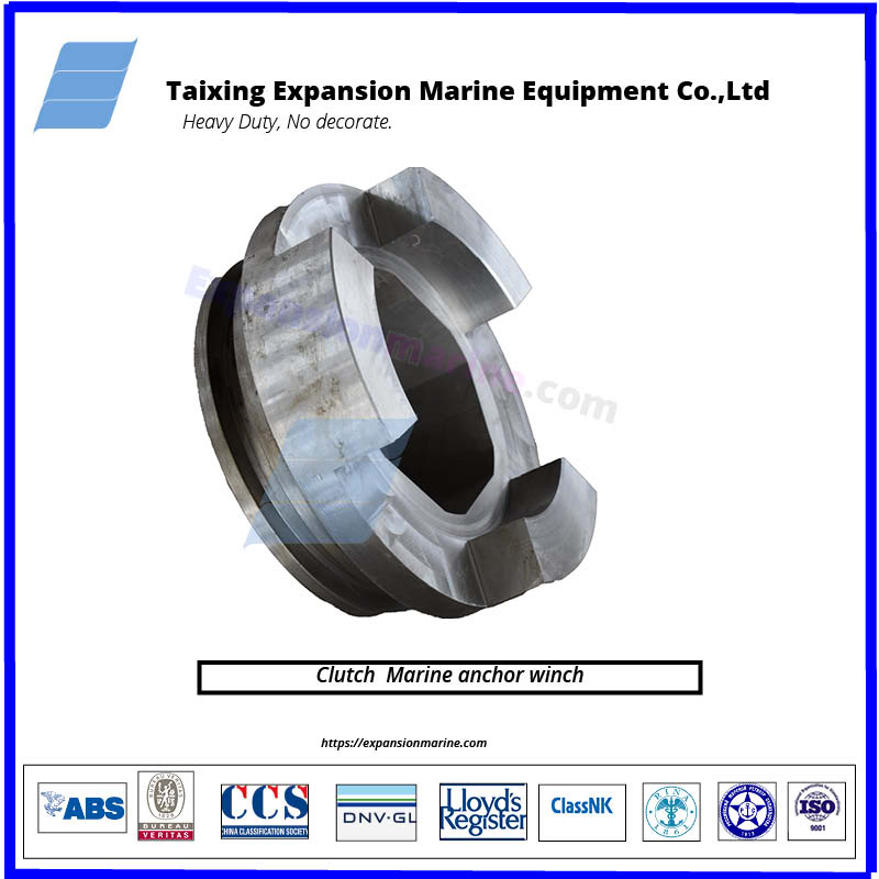 clutches of mooring winch