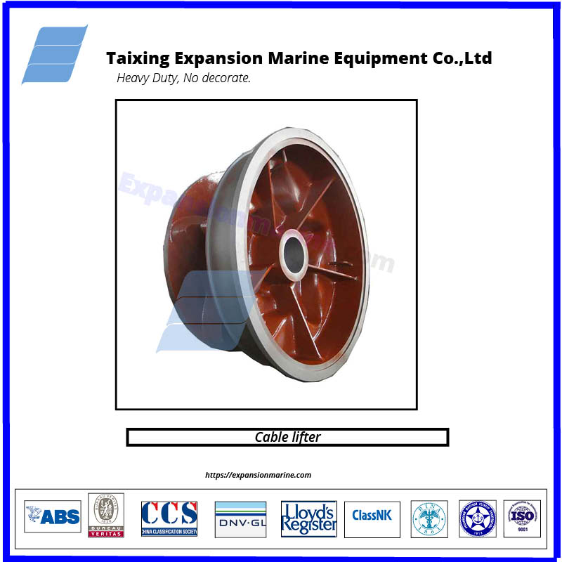 chain cable lifter  of anchor winches