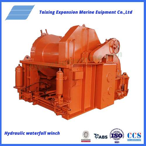 30t hydraulicwaterfall towing winch